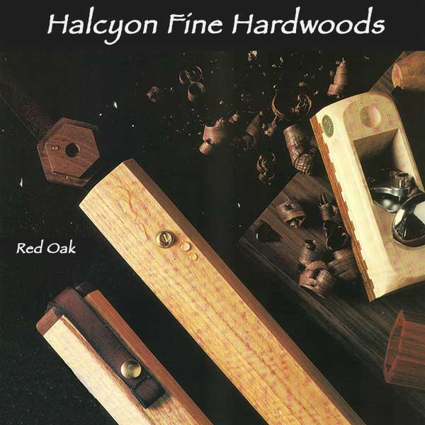 Halcyon hardwood fly rod tube