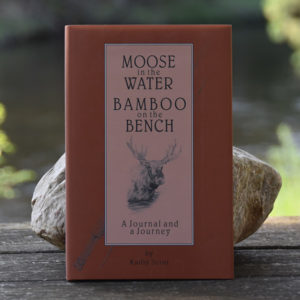 Moose in the Water / Bamboo on the Bench, by Kathy Scott