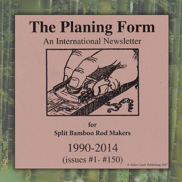 The Planing Form DVD