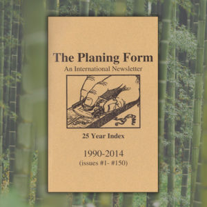 The Planing Form index
