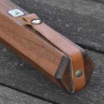 Halcyon hardwood fly rod tube